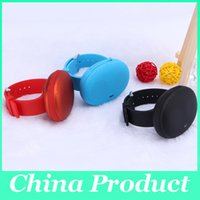 Wholesale Mini Portable Wireless Bluetooth Watch Speaker T1 Outdoor Sport Speakers With TF Card Slot Hands free colors