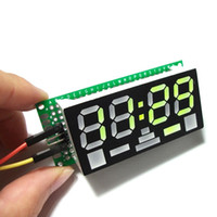 Wholesale Newest Electronic Mini Clock Simple digit DIY Digital LED Clock Kit Simple Desktop
