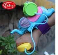 Wholesale very cool water gun baby kid child best gift use wrist to hit new design children toy animal