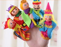 Wholesale 240PCS King Queen Finger Puppets pack Story Telling Puppets for Kids Years