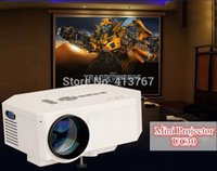 Wholesale UC30 HD P Pico portable LED Projector beamer Mini Home theater
