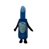 adult toothbrush costume - Electric Toothbrush Mascot Costume Cartoon Character Adult Sz Real Picture Longteng