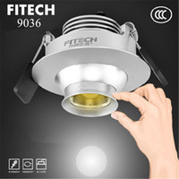 Wholesale 2014New w cob led Zoom downlights Showcase Light Museums background wall light AC110 V CREE led chip