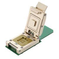 Wholesale nand socket test fixture solutions Contactor adapter valadation reader programming BGA153 Socket SD Solution_11 X13mm Premium eMMC Reader
