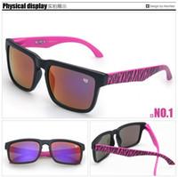 Plastic polarized sunglasses - AAAA Quality New Style SPY KEN BLOCK HELM Brand Cycling Sports Outdoor Men Women Optic Polarized Sunglasses DHL colors