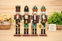 nutcrackers - 2016 New cm Nutcracker puppet soldiers home for Christmas creative ornaments party decoration