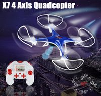 Wholesale X7 Axis Quadcopter Fasion Camera Drones GHz SPSP Easily Operate Helicopter Aircraft USB Charging VS X5C