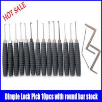 Wholesale goso grey Non slip handle lock pick dimple lock picks lock picking picks professional locksmith supplies