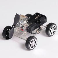 Wholesale Mini Wind Car DIY Puzzle Robot Kit For Arduino