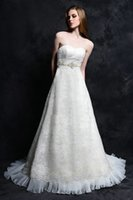 beaded organza trim - 2015 wedding dresses lace sweetheart pleated organza ruffles beaded trim bridal dresses cathedral train wedding gowns