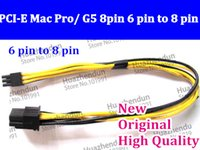 Wholesale 20pcs High Quality PCI E Mac Pro G5 pin pin to pin Mac video card PIN to pin adapter support for GT GTX285