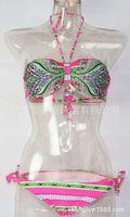 Wholesale Senge swimsuit new European and American trade of the original single retro Miss Bikini swimsuit split bikini