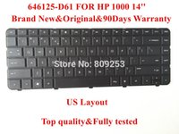 Wholesale Original Keyboard for HP laptop keyboard D61 US Layout days Warranty Top quality