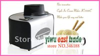Wholesale With LCD Screen W L Many color available Automatic Ice Cream Maker with Candy Crusher Dropshipping