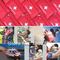 Wholesale Emergency First Aid Kit Pouch Pack Travel Sport Rescue Medical Treatment Bag IA279 W Emergency First Aid Kit P A5