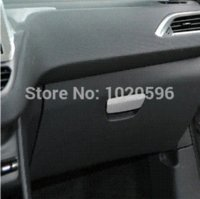 Wholesale Peugeot glovebox pull handle paillette Dedicate refitting Peugeot interior storge box decoration strip strips pictures