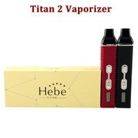 vaporizer pen wax - E cigarette Titan Vaporizer kit Dry Herb Wax Weed Vaporizer pen with mAh battery dry herb atomizer