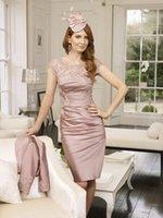 velvet flower - new fashion vestido de madrinha festa longo knee length custom taffeta party gown mother of the bride dresses