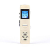 Wholesale Gold silver mini GB digital voice recorder recording USB port shape of MP3 MP3 player