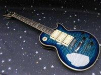 al por mayor pickups-envío libre perfecto calientes nuevos agradable Ace Frehley firma 3 pastillas con cuerpo de caoba de una pieza cuello de la guitarra eléctrica
