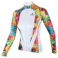 Wholesale Paladin Sportswear Women s Spring Summer Autumn Bike Bicycle Polyester Long Sleeved Outdoor Cycling Jersey Breathable Clothes