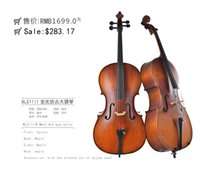 Wholesale 1 solid maple wood handmade cello musical performance practice the quality is very good