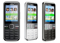 Wholesale Original Unlocked Nokia C5 Cell Phone MP MP Camera GPS Bluetooth Nokia C5 i Mobile Phone