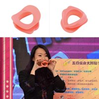 Wholesale New Silicone Face Slimmer Face Exerciser Lip Trainer Oral Exerciser Exercise Mouthpiece Face Worldwide Sale