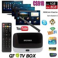 full hd media player - XBMC Q7 K R42 CS918 RK3188 Quad Core Android Smart TV Box Media Player GB GB IPTV Wifi Antenna MK888 Full HD P with Remote Control