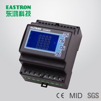 Wholesale SDM630M CT Three Phase DIN rail Energy Meter power meter CT A Operation RS485 Modbus RTU