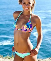Cheap Halter Bikini Best Swimsuit Push Up