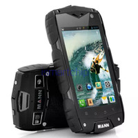 military cell phone - Military Standard ZUG3 Waterproof IP68 Rugged Mobile Phone G WCDMA Android Qualcomm MSM8212 Quad Core RAM G shockproof cell phone