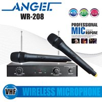 conference system - 5 Year Warranty Professional WR VHF Handheld Wireless Microphone System For KTV Karaoke Stage DJ Conference