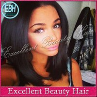 human hair lace wigs - Brazilian full lace wig short virgin hair bob lace front wig human hair glueless full lace wigs short cut human hair wigs for black women