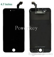 Wholesale Front Assembly LCD Display Touch Screen Digitizer Replacement Part for iphone inch White DHL EMS Free