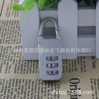 backpack industry - Yongfeng Lock Industry Supply GS luggage locks lock backpack theft lock padlock gift consult Before buy C