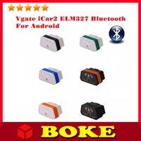 Wholesale Hot Vgate iCar2 Vgate icar ELM327 OBD OBDII Bluetooth ELM Bluetooth Car Diagnostic interface Support Android