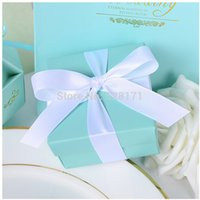 tiffany blue favor boxes - Tiffany Blue Wedding Candy Box Wedding Favor Boxes Tiffany Blue Theme Wedding Party Favors and Gifts