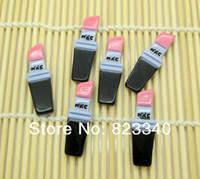 Wholesale Very Hot And Kawaii Cute Resin Flatback Pink Makeup Lipstick Cabochon Craft Embellishment