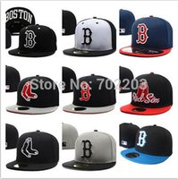 Wholesale Boston Red Sox New Fitted Cap Embroidered Team Logo Baseball Cap Casual Style sport hats