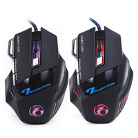 Wholesale Professional Wired Gaming Mouse Button DPI LED Optical USB Wired Computer Mouse Mice Cable Mouse High Quality