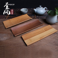 bamboo tea towels - Natural bamboo towel tray farmhouse hotel restaurant napkin pad special features a variety of kung fu tea towel care