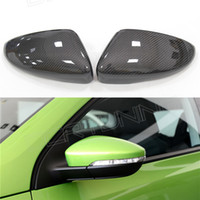 Wholesale Full replacement carbon fiber car side mirror for vw cc