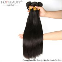 Wholesale KG Virgin Brazilian Hair Straight Weave No shed No Tangle Hot beauty hair products