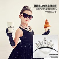 little girl jewelry - Hot diamond crown crown lovely princess and little girl beautiful children s clothing and accessories headdress jewelry