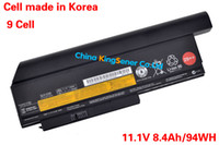 Wholesale Hot Sale WH Korea Cell Original Quality Laptop Battery for Lenovo ThinkPad X220 X220I X220S T4872 T4942 T4866 A36283