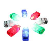 Wholesale NEW Color LED Laser Finger Ring Lights Beam Torch Party Color will send at random