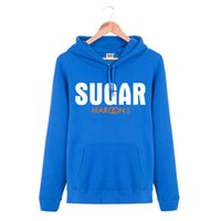band sugar - Hooded Pullover SUGAR MAROON Rock Band Brand Hip Hop Spring Autumn Winter Hoodies Men Cotton Sports Sweatshirts