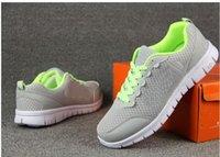 Wholesale high quality Leisure Breathable men s Mesh black shoes Leisure Sport shoes Women Running shoes eu size