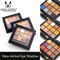 Cheap MISS ROSE Brand New Eye Shadow Palette Makeup Nude Naked Eyeshadow 12 Colors Matte Shimmer High Qality For Women Professional